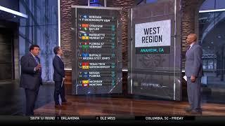 2019 March Madness: Seth Davis, Clark Kellogg break down the NCAA Tournament bracket