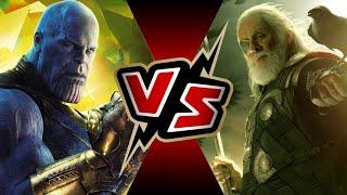 Thanos VS Odin   BATTLE ROYALE