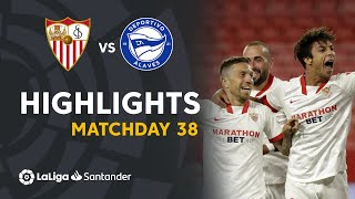 Resumen de Sevilla FC vs Deportivo Alavés (1-0)
