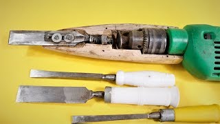 How to Make a Simple Electric Power Chisel  at Home . | DIY |