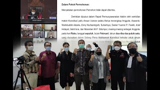 FULL!!! Respon Hafidz-Hanies setelah Menang Gugatan Pikada Rembang