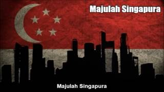 Singapore National Anthem (Majulah Singapura) - Nightcore Style With Lyrics