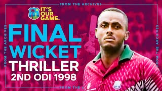 Final Wicket THRILLER! | Classic Match Highlights | Windies v England 1998
