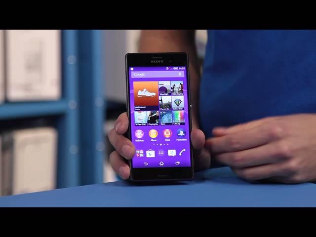 Belsimpel-productvideo voor de Sony Xperia Z3