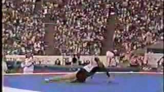 Oksana Chusovitina - 1991 Worlds EF - Floor Exercise