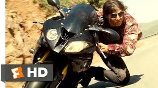 Mission: Impossible - Rogue Nation (2015) - Mountain Motorcycle Chase Scene (7/10)   Movieclips