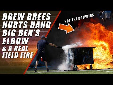 Drew Brees Injury, Julio Jones, Titans Field Fire, Roughing the Passer: NFL Week 2
