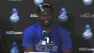 Duke ACC Tournament Championship Postgame Press Conference