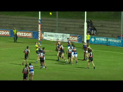 Round 2 Highlights: Werribee vs Footscray