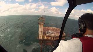 Diamond Shoals Light Station - Helicopter Landing
