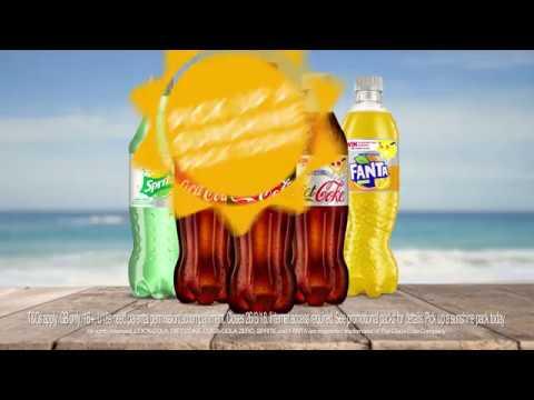 COCA COLA Break free with a coke that's sugar free