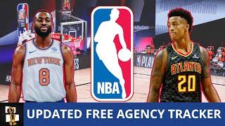 Day 3 NBA Free Agency Tracker Following Kemba Walker To Knicks & John Collins To Hawks Signings