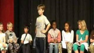 8 year old reciting 200 digits of Pi