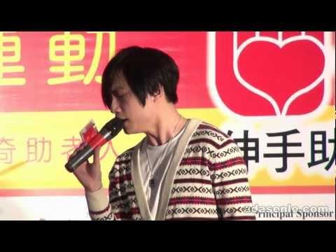羅力威 ~ 櫻花咒 @ 伸手助人協會之曲奇義賣運動2012 ~ 太古城中心 (18.02.2012)
