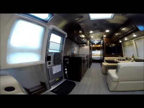 Creative Walk Through 2016 Airstream Flying Cloud 26U Travel Trailer For Sale | VideoMoviles.com