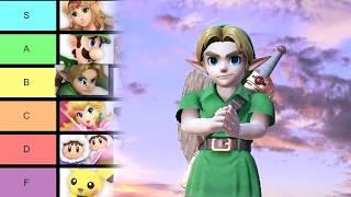 Most SARCASTIC Clapping Tier List - Super Smash Bros Ultimate | Bit Button