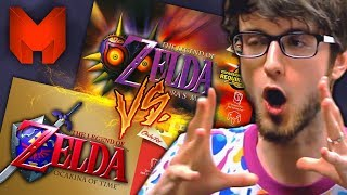 The BEST N64 Games? Ocarina of Time Vs Majora's Mask - Madness (The Legend of Zelda)