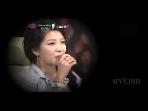 120422 Kpop star - BoA is crying because Ji-min's song (English sub)
