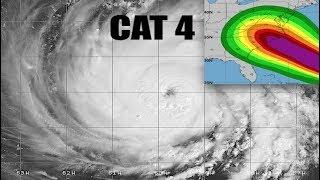 NEW - LIVE Coverage of a HUGE Hurricane Florence - Mandatory Evacuations ALREADY