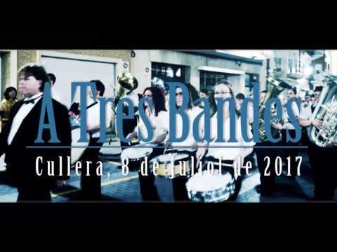 Desfile concierto 'A tres bandes' de Cullera