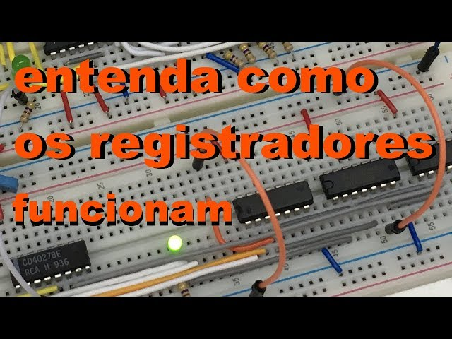 ENTENDA COMO OS REGISTRADORES FUNCIONAM | Conheça Eletrônica! #046