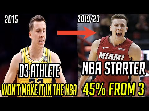 Meet Duncan Robinson! From D3 Athlete, to one of the best shooters in the NBA! Miami Heat!