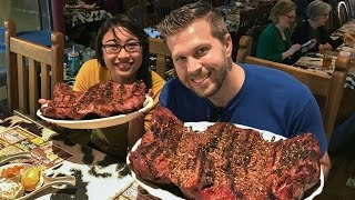 GIANT 72oz STEAK CHALLENGE!!
