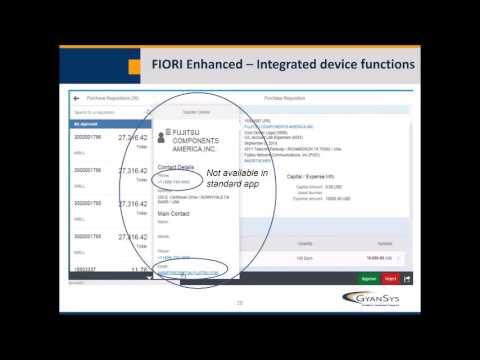 Jumpstart Fiori within your Existing SAP Platform - Part III