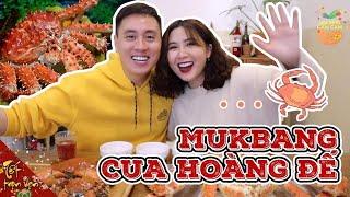 """Mukbang """"Cua To Dần"""" , Ăn Cua Hoàng Đế để năm mới may mắn Vlog 173"""