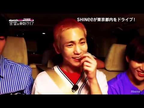 180818 【SHINee特番】 密室の東京ドライブ