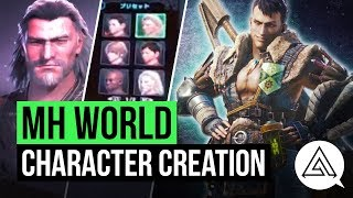 Monster Hunter World   First Look at Character Creation, Flagship Gameplay & Giant Elder Dragon!