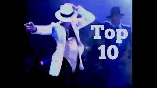 BEST DANCE MOVES - Top 10 / Michael Jackson