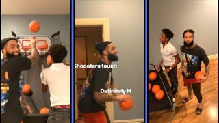 Odell Beckham Jr Plays His Little Brother In HORSE
