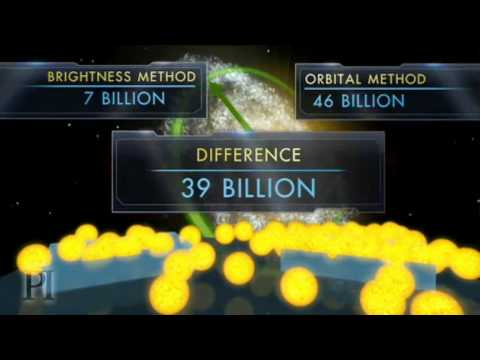 The Dark Matter Mystery: 39 Billion Missing Suns