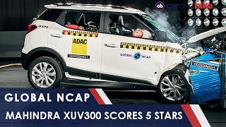Mahindra XUV300 Scores 5 Star In Global NCAP Crash Test | carandbike