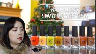 網美的指甲油品牌好用嗎?KL Polish Swatch and Review