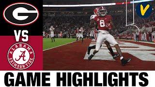 #3 Georgia vs #2 Alabama Highlights | Week 7 2020 College Football Highlights
