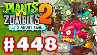 Plants vs. Zombies 2: It's About Time - Gameplay Walkthrough Part 448 - EVERY GARGANTUAR! (iOS)