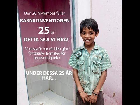 Barnkonventionen 25 år