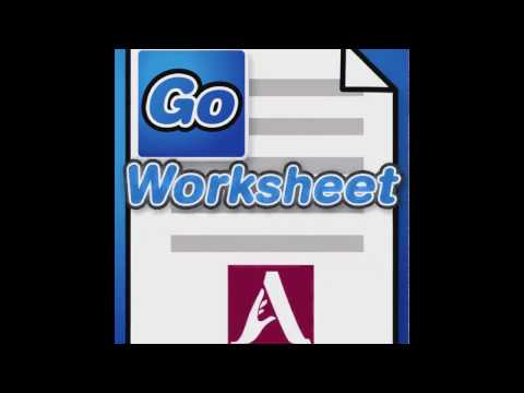 GoWorksheet Version 2.0 - New Features