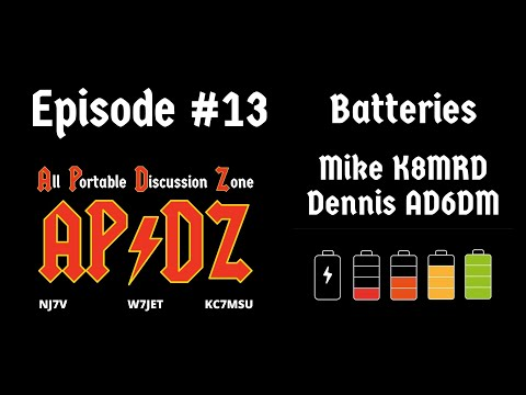 Episode #13 - Batteries for Portable Ops