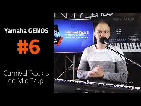 Carnival Pack 3 od Midi24.pl - Style Yamaha Genos - Jerzy Stróżycki