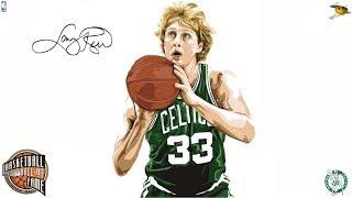 Larry Bird (The Baddest Man Ever to Shoot a Basketball) NBA Legends