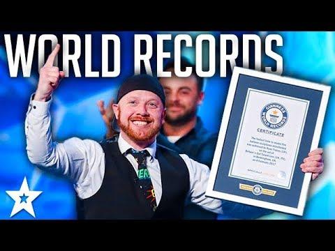 GUINNESS WORLD RECORDS on Britain's Got Talent 2017 | Got Talent Global