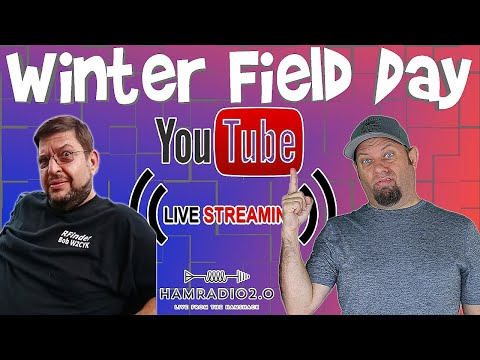 Lunchtime Livestream - Plans for Winter Field Day!