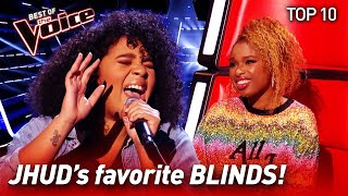 TOP 10 | JHUDs favorite Blind Auditions EVER in The Voice