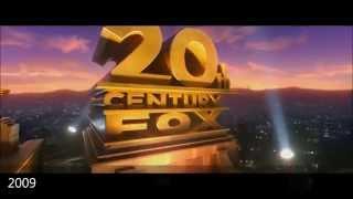 20th Century Fox Logo History 1914-2015