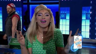 Stars Of Kinky Boots Perform On TODAY - Kirstin Maldonado