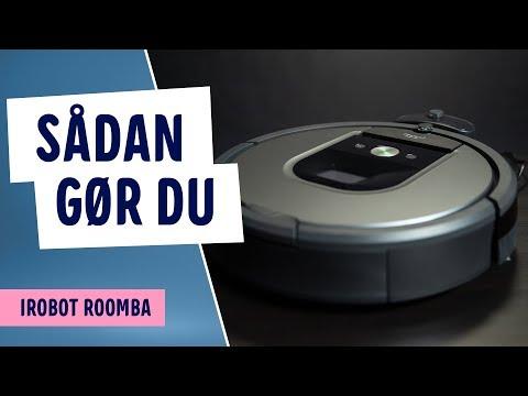 Sådan forbinder du iRobot Roomba til Wi-Fi