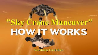 "How the ""Sky Crane Maneuver"" Works - Narrated"